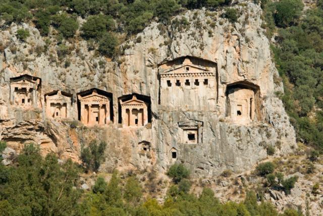 Turciq Marmaris skalni grobnica