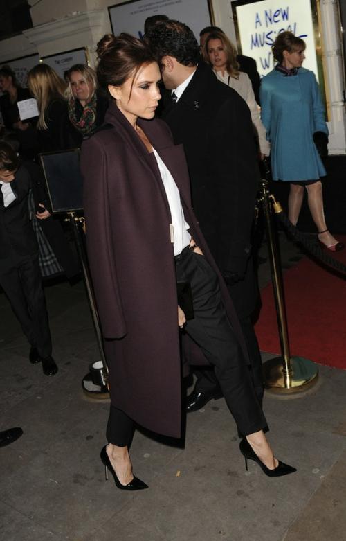 Victoria Beckham Wool moderno palto