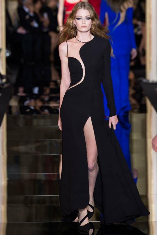 cherna roklq vissha moda Atelier Versace prolet 2015