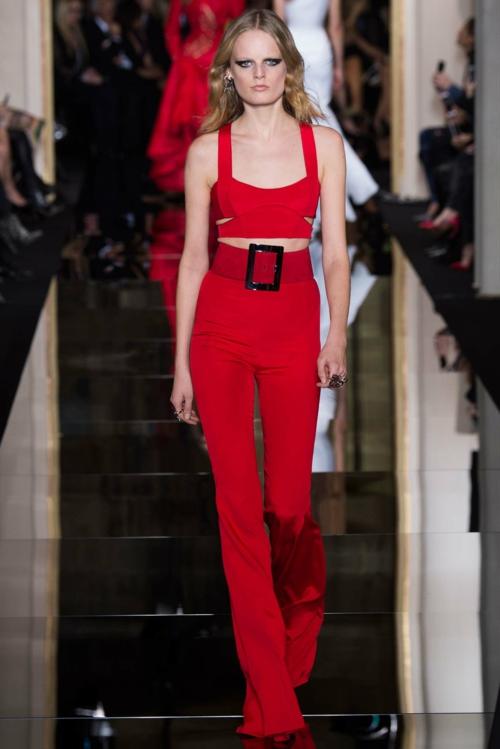 Versace prolet 2015 cherveno