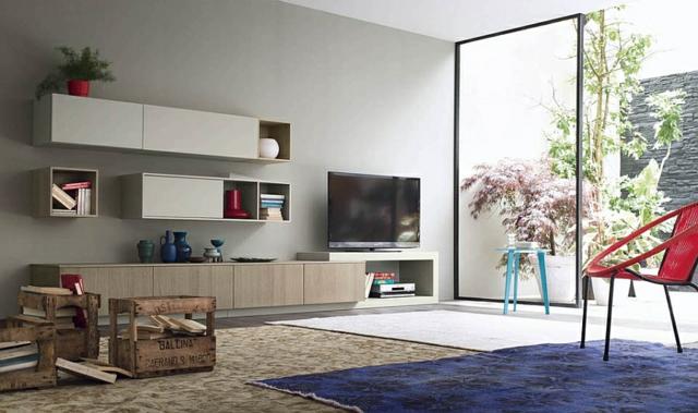 holna sekciq v minimalistichen stil