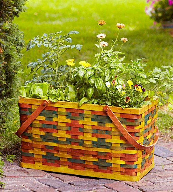 idei dekoraciq za gradinara chanta piknik