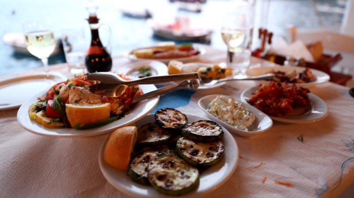 santorini garciq hrana restoranti