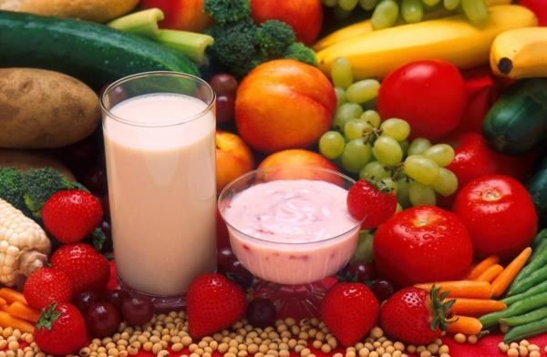 protiv nastinka i grip - plodove i zelenchuci