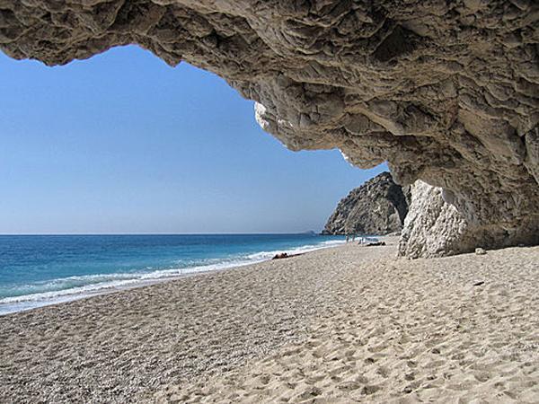 pochivka v Garciq Lefkada plaj Egremini