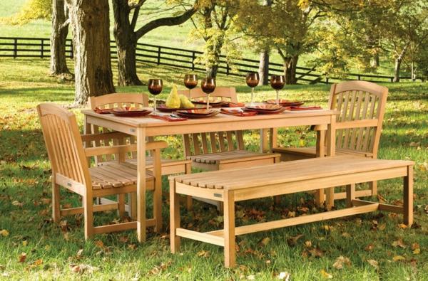 mebeli gradina darveni stolove i masa