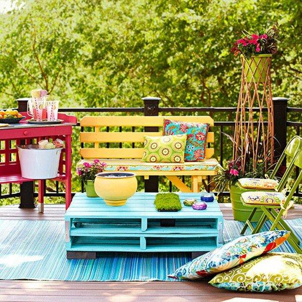 Мебели за градината – евтини и красиви