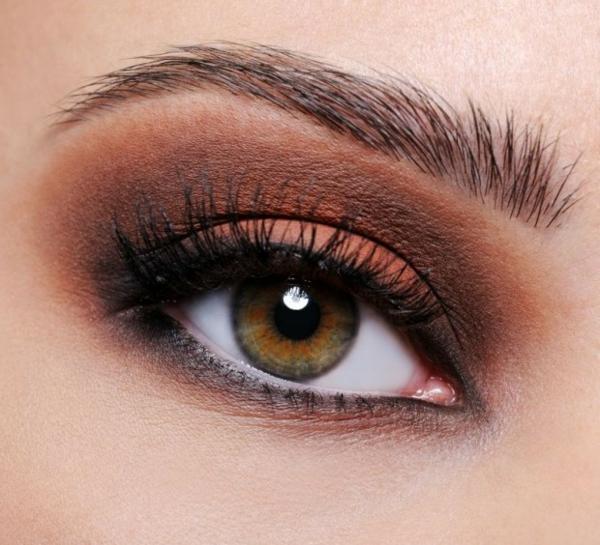 идеи за грим бал зелени очи