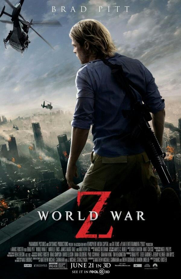naj dobrite filmi s brad pit world war z