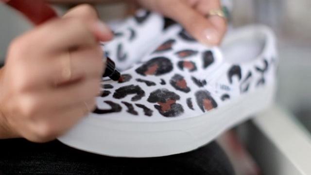 napravi si sam kecove ideq leopardov print