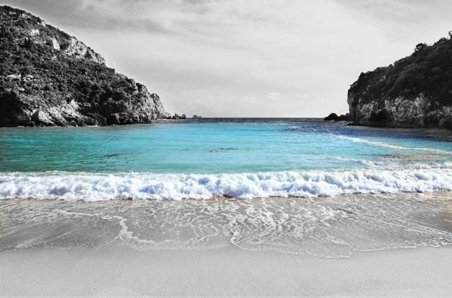 paleokastritsa plaj garciq korfu pochivka
