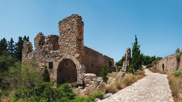 pochivka Kefaloniq Garciq zamak Asos
