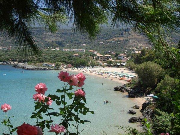 pochivka graciq pelopones plaj kalogria