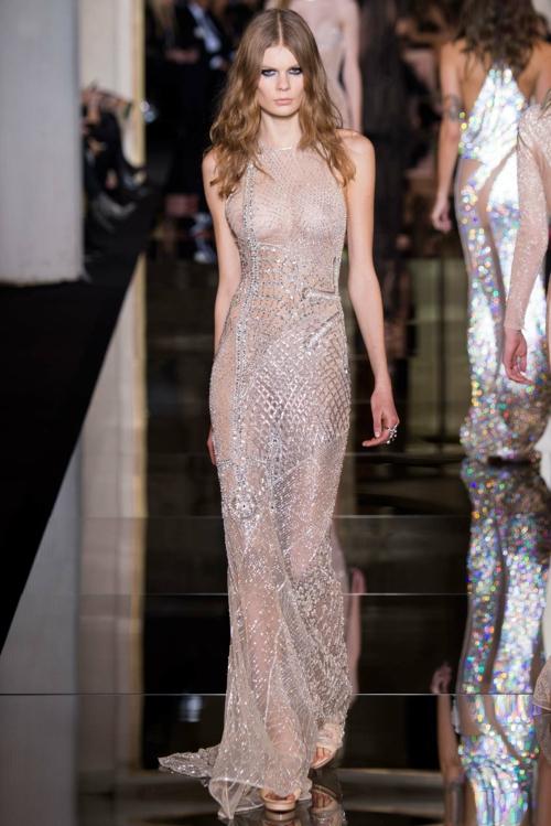 prozrachna vissha moda Atelier Versache prolet 2015