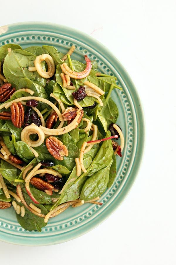 recepta salata spanak qbalka