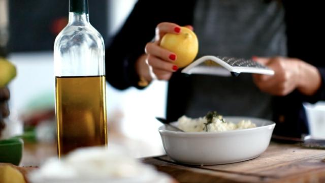 recepta za dip s rikota limon