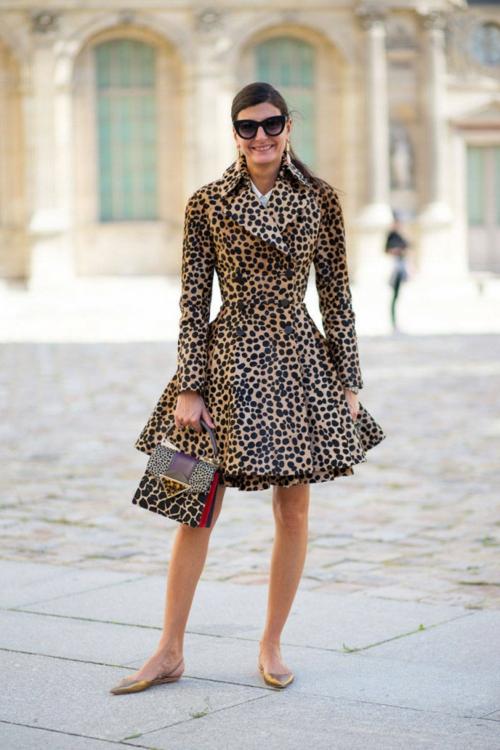 стрийт стайл снимки леопард