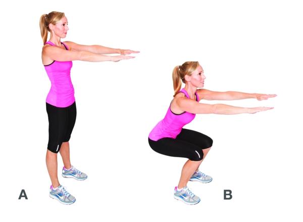 упражнения за стегнато тяло
