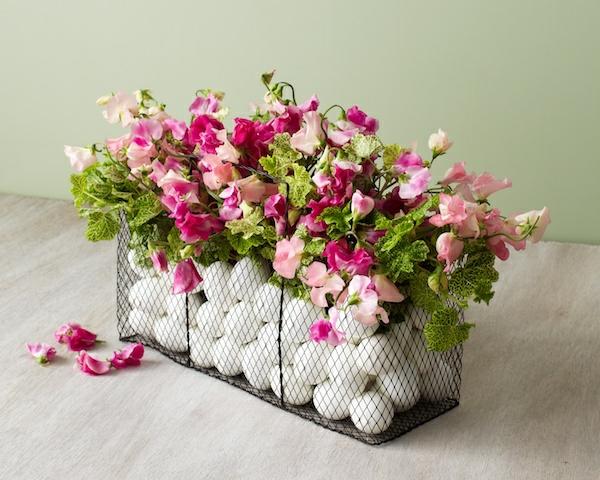 velikdenska ukrasa s cvetq i beli qica