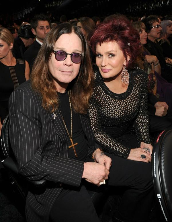 zvezdni dvoiki Ozzy i  Sharon Osbourne