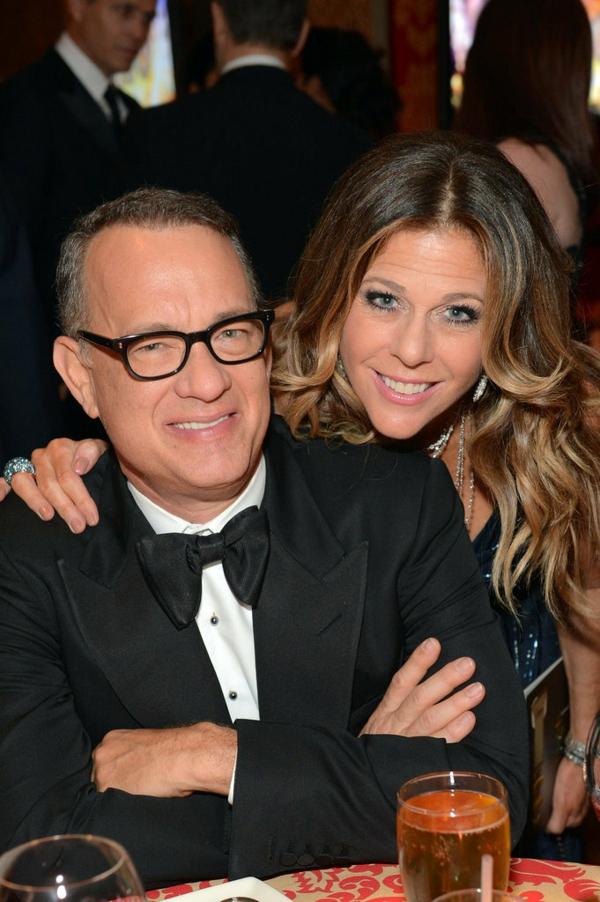 zvezdni dvoiki Tom Hanks Rita Wilson