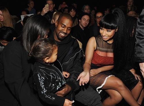 Nicki Minaj parvi redove new york modna sedmica