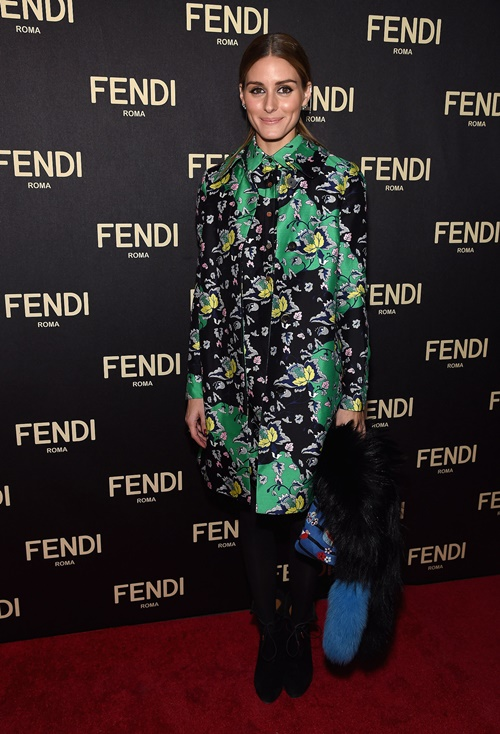 Olivia Palermo otvarqneto na Fendi magazin new york