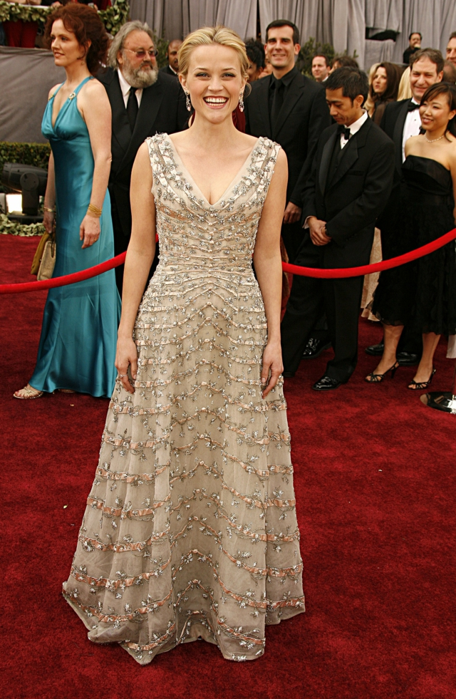 Reese Witherspoon Christian Dior 2006 Oscars