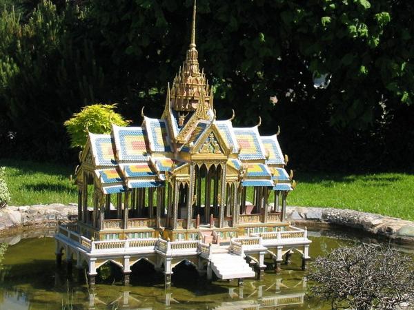minimundus park arhitekturni modeli pang pa in