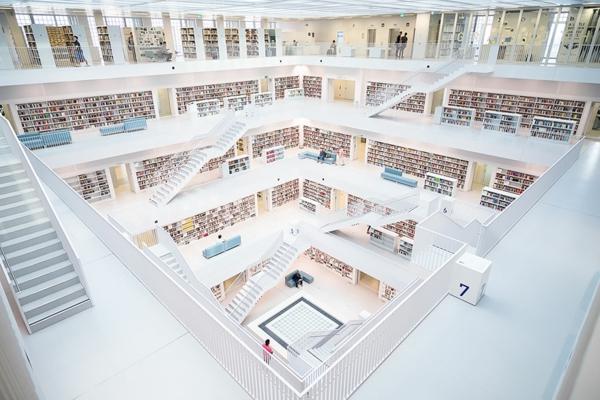 beli naj-vnushitelnite biblioteki po sveta