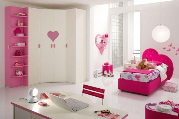 детски стаи в розово бяло модерен интериорен дизайн