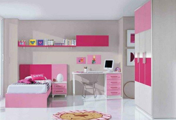 детски стаи в розово лилаво обзавеждане идеи