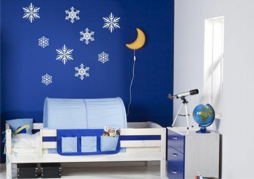 стикери за стена детска стая луна звезди