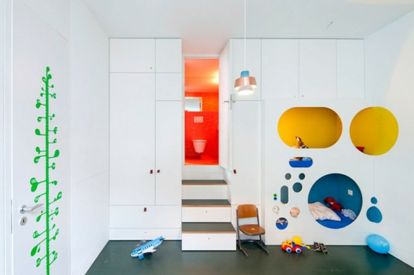 детска стая момчета стълби скривалище