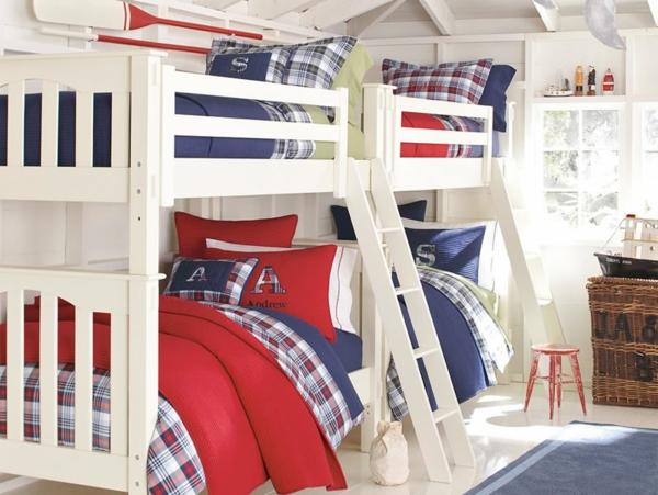 детска стая момчета двуетажно легло