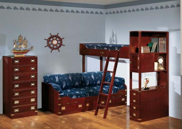 детска стая момчета морски интериорен дизайн