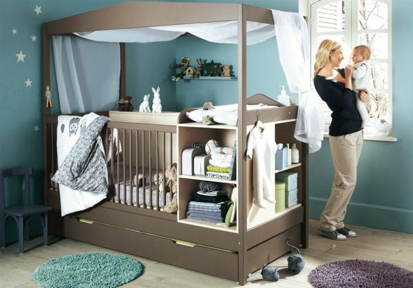 детска стая момчета идеи обзавеждане легло бебе