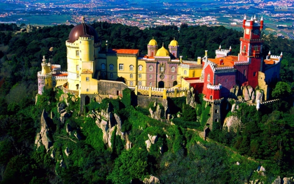 dvorci po sveta portugaliq pena