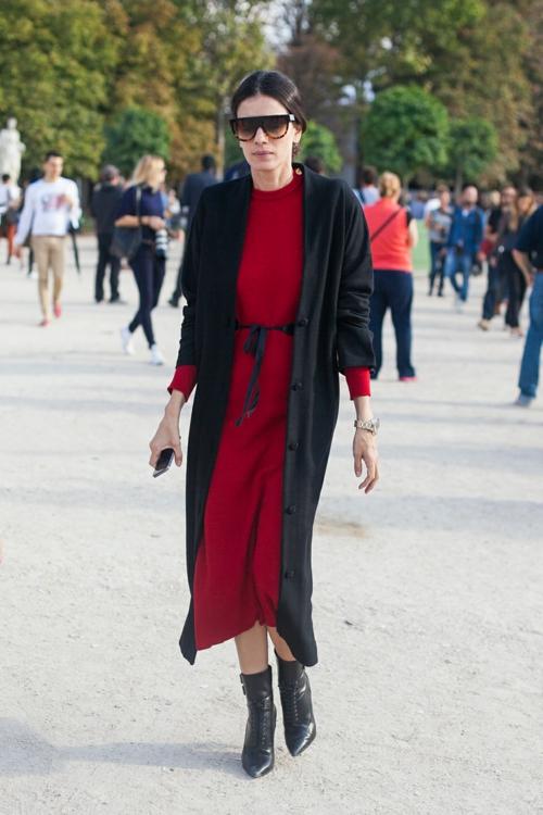 eleganten proleten street style cherno cherveno