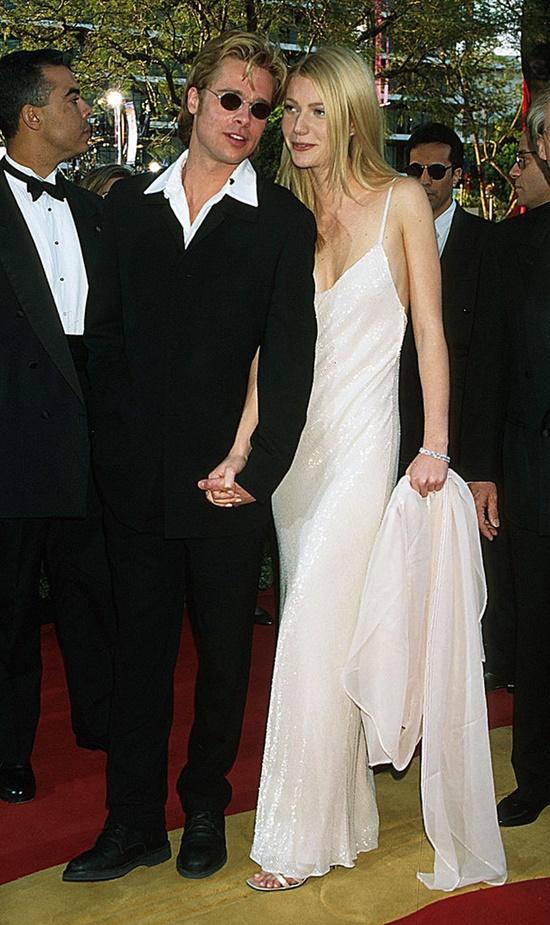 emblematichni momenti ot oskarite Brad Pitt Gwyneth Paltrow