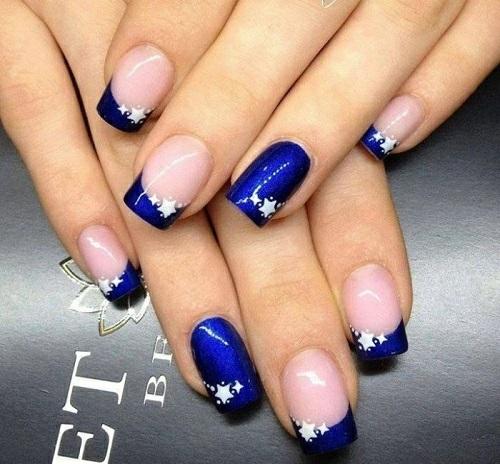 manikiur frenski sinio zvezdi ideq