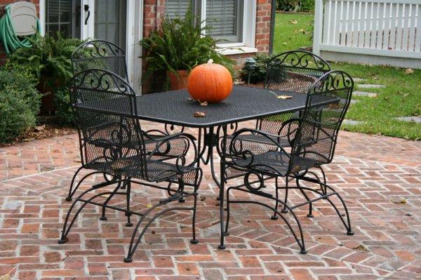 gradinski mebeli izbor metalni stolove i masa