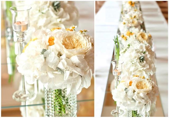 idei za svatbena dekoraciq cvetq
