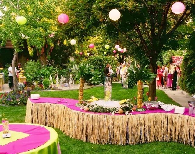idei za svatbena dekoratsiq na gradina