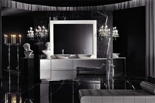 interior cherno bqlo banq italianski stil