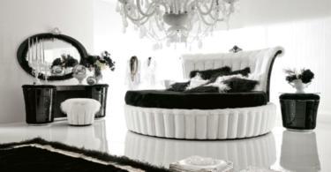Интериор в бяло и черно