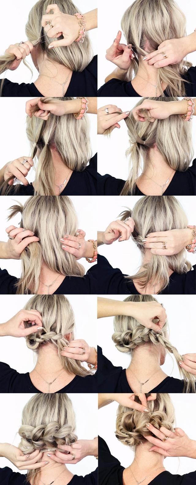 kak da si napravim pricheska s vdignata kosa