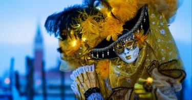 Карнавалът във Венеция - феерия от цветове и костюми