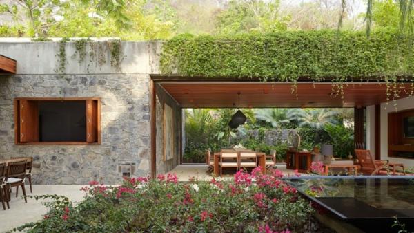 kashta v tropicite meksiko kamak darveni mebeli