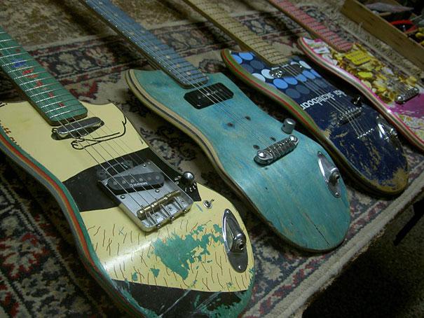 kitara skeitbord reciklirane nachini